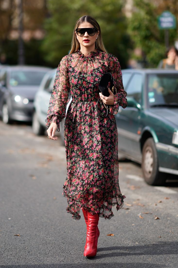 Shop The Street The Floral Midi Corina Gaffey Fashion Stylist